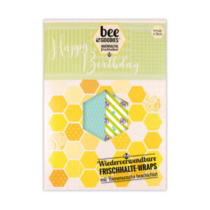 beeGoodies - Happy Birthday - 2er Set