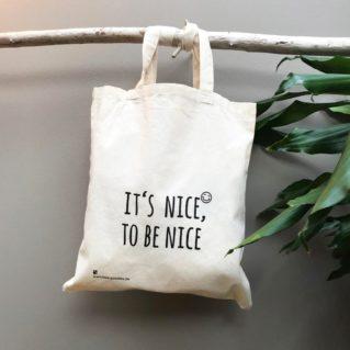 Bio-Tasche – Be Nice